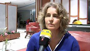 """""""Es war wie eine Hölle"""": 200 gerettete Passagiere der Adria-Fähre erreichen Italien"""