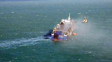 """""""Schiff war alt und klein"""": Noch fast 100 Schiffbrüchige vermisst"""