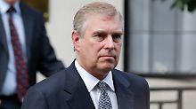 Prinz Andrew hat sich noch nicht offiziell zu den Vorwürfen geäußert.