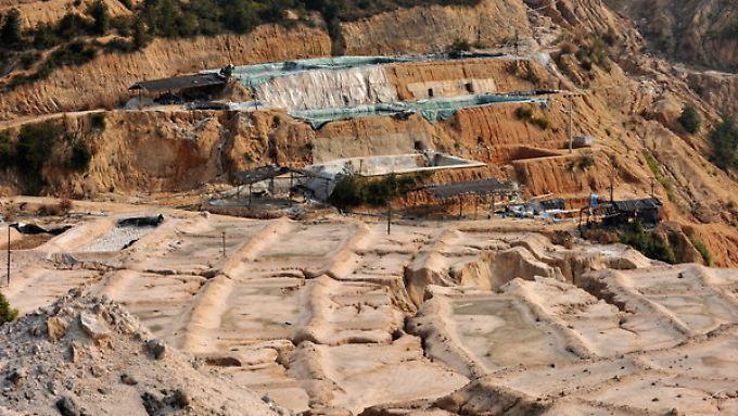 90 Prozent der begehrten Seltenen Erden werden in China abgebaut.