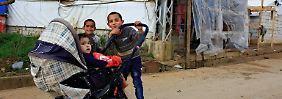 Syrer brauchen erstmals Visa: Libanon schafft die Flüchtlinge ab