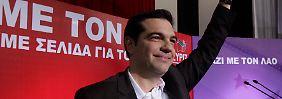 Alexis Tsipras will nach einem Wahlsieg in Griechenland einen Schuldenschnitt aushandeln.