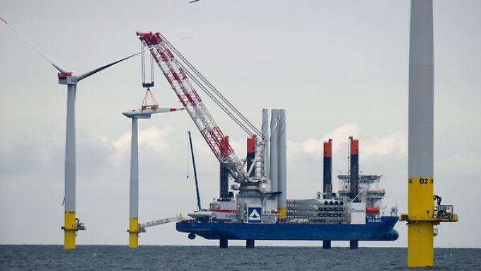 80 Anlagen will EnBW nördlich von Rügen installieren.