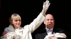 Promi-News des Tages: Albert und Charlène zeigen erstmals ihre Zwillinge