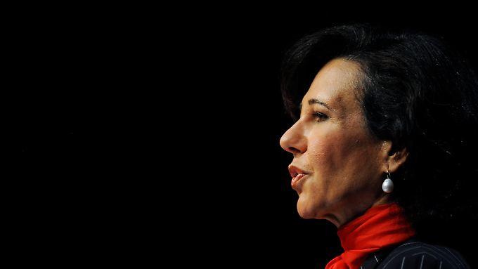 Ana Botin zieht die Zügel an: Santander erhöht sein Kapital.