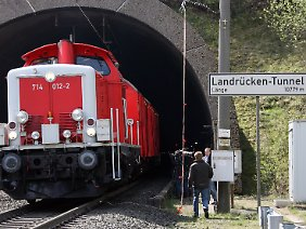 Der Landrückentunnel ist der längste Eisenbahntunnel Deutschlands.