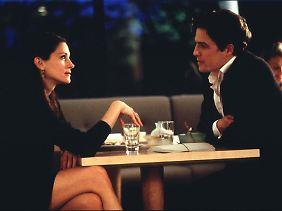 "Julia Roberts und Hugh Grant im Film ""Notting Hill""."