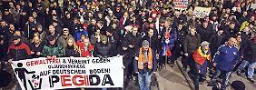 Antrag in Dresden: Pegida will gemeinnützig werden