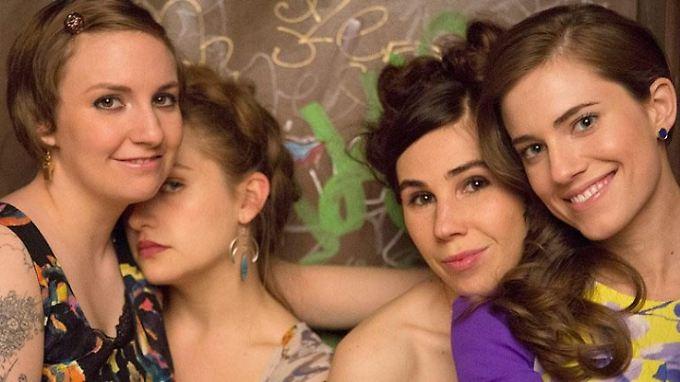 "Hannah, Jessa, Shoshanna unjd Marnie (v.l.) sind Lena Dunhams ""Girls"" - nicht perfekt und trotzdem bezaubernd."
