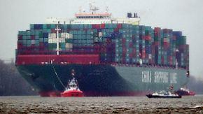 """""""CSCL Globe"""" in Hamburg: Investitionen in Container-Giganten sind hochriskant"""