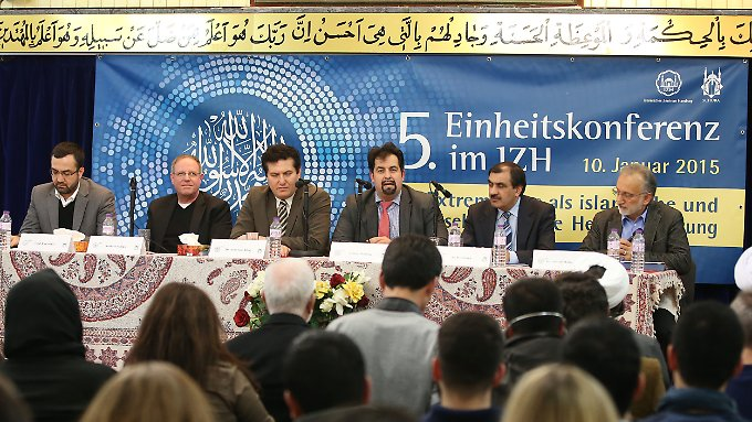 Versammelte Vertreter der Muslime in Deutschland.