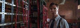 Ein Mann und seine Maschine: Alan Turing (Benedict Cumberbatch) will den Enigma-Code knacken.