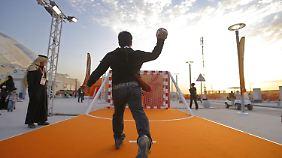 Wüstenstaat lockt mit viel Geld: Katar will mit Sportevents sein Image aufpolieren