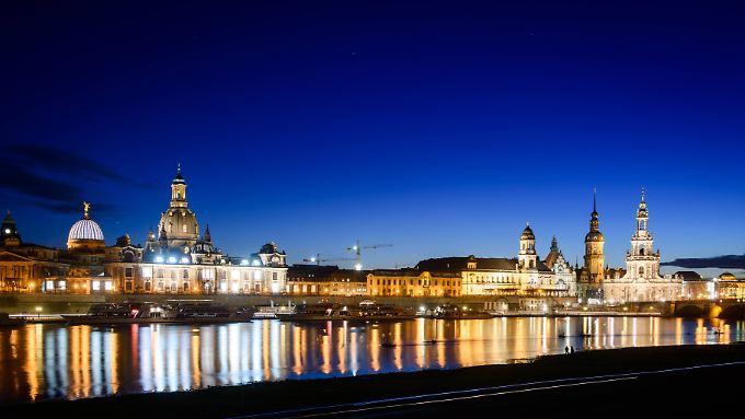 Elbpanorama in Dresden. Vor allem Urlauber mit ausländischem Partner sind verunsichert.
