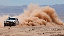 Vorneweg: Nasser Al-Attiyah.