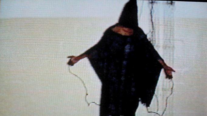Symbol der US-Folter: Dieses Bild eines irakischen Gefangenen in Abu Ghraib ging um die Welt.