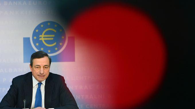 Die europäischen Währungshüter rund um Mario Draghi entscheiden am Donnerstag über den weiteren geldpolitischen Kurs.