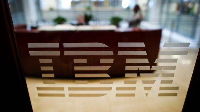 Cloud-Computing bringt IBM bisher zu wenig ein.