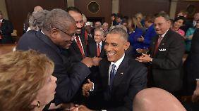 Rede zur Lage der Nation: Obama will weiter Akzente setzen