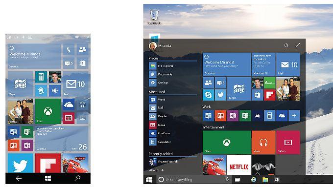 Mobil oder auf dem PC: Es gibt nur noch Windows 10.