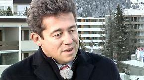 """Charles-Edouard Bouée in Davos: """"Die USA sind definitiv zurückgekommen"""""""