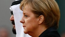 König Abdullah ist tot: Merkel spricht ihr Beileid aus