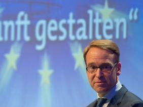 Jens Weidmann beklagt einen geringeren Anreiz zum Schuldenabbau.