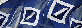 Zeichen der Krise: Bei Deutscher Bank fällt die Show aus
