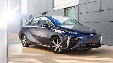 Toyota will mit dem Mirai Zeichen setzen. Das scheint ganz gut zu gelingen.