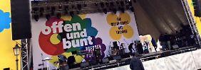 Grönemeyer singt für Weltoffenheit: Pegida unterwandert Toleranzfest