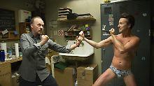 """Michael Keaton und Edward Norton sind die Hauptdarsteller von """"Birdman""""."""