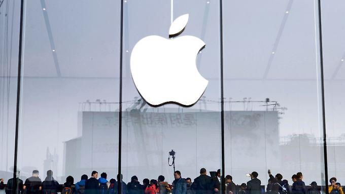 Der angebissene Apfel: Das Apple-Logo steht für eine beispiellose Erfolgsgeschichte im Spannungsfeld zwischen Hightech, Marketing und Design.