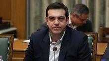 Selbstbewusst: Alexis Tsipras.
