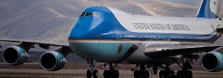 """Nachfolger für """"Air Force One"""": Barack Obama fliegt auch künftig Boeing"""