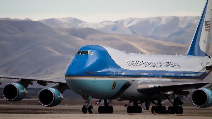 Keine Experimente: Der Präsident fliegt auch in Zukunft im Jumbo.