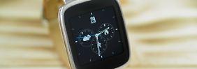 Blickfang am Handgelenk: Zenwatch ist die schönste Smartwatch