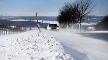 Das weiße Comeback: Winterwetter bringt Schnee und Glätte