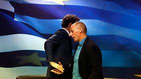 Eurogruppen-Chef trifft Tsipras: Dijsselbloem muss den Löwenbändiger spielen