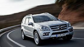 Im Mercedes GL kam im Erhebungszeitraum kein einziger Fahrer ums Leben.