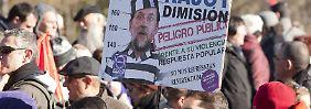 100.000 Demonstranten in Madrid: Spaniens neues Linksbündnis Podemos setzt auf Syriza-Effekt