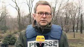 """Dirk Emmerich aus der Ostukraine: Ohne Russland """"laufen Bemühungen ins Leere"""""""