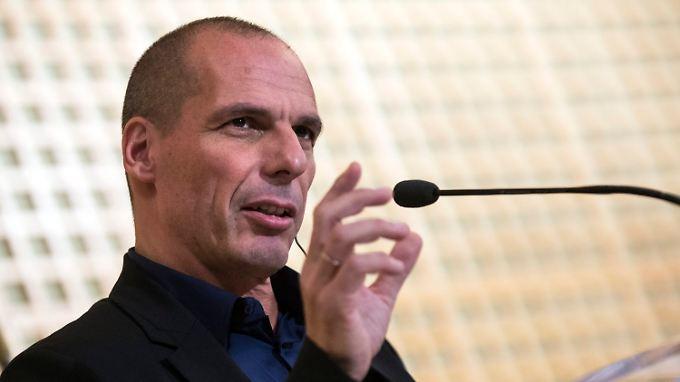 Yanis Varoufakis will einen Schuldenschnitt.