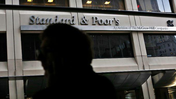Dubiose Kredite tadellos bewertet: Die US-Ratingagentuir Standard&Poor's.