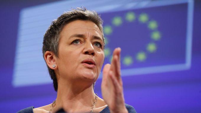 EU-Wettbewerbskommissarin Margrethe Vestager lässt weitere Steuergesetze prüfen - diesmal in Belgien.