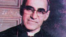 Bischof Oscar Romero (1917-1980).