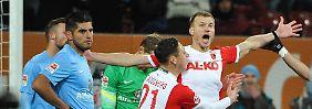 2:0-Führung und Platz drei verspielt: Augsburg lässt sich von Frankfurt ärgern