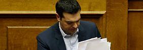 """""""Demagogische Erpressung"""": Tsipras auf Kollisionskurs"""