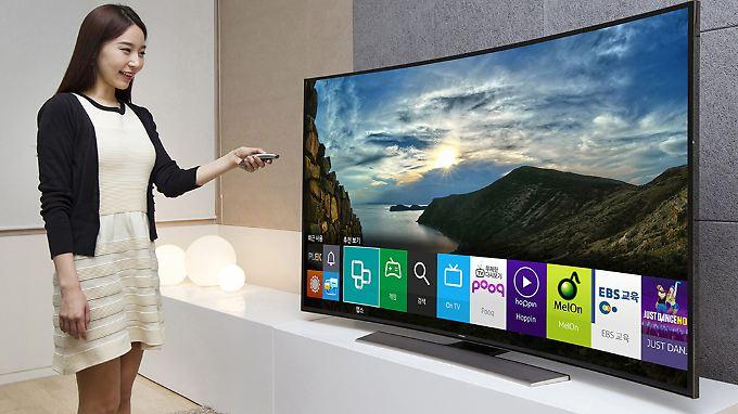 Samsungs Smart-TVs sind etwas zu aufmerksam.