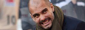 """""""Natürlich müssen wir uns verbessern, um unser Niveau zu erreichen"""": Josep Guardiola."""