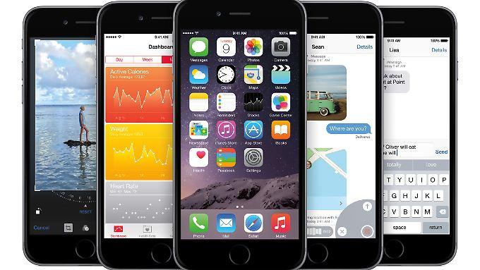 Optisch soll sich iOS 9 von der Vorgängerversion nur wenig unterscheiden.
